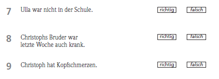 Fit in Deutsch 1 Sınavın Bölümleri 3