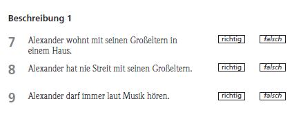 Fit in Deutsch 1 Sınavın Bölümleri 7