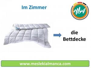 die Bettdecke