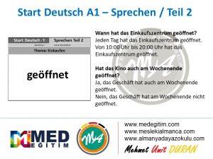 Almanca Konuşma Kartları - Einkaufen 3