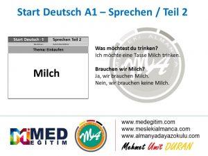 Almanca Konuşma Kartları - Einkaufen 5