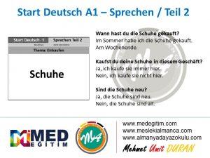 Almanca Konuşma Kartları - Einkaufen 6