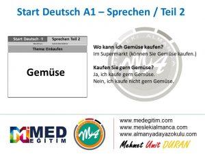 Almanca Konuşma Kartları - Einkaufen 7