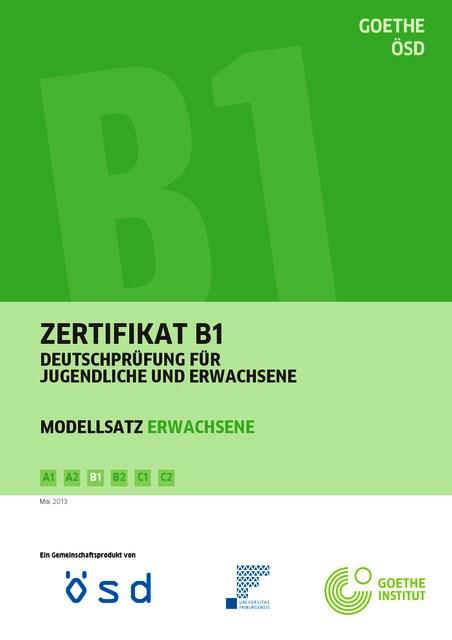 Engelli Adayların Zertifikat Deutsch B1 Sınavına Girmesi 1