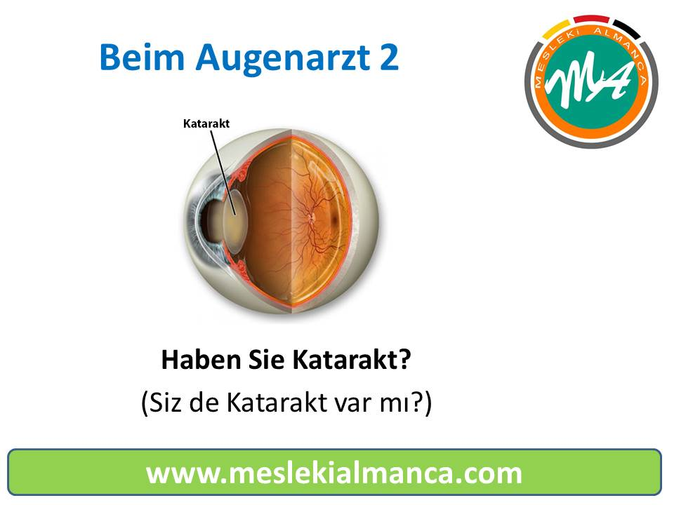 Tıp Videoları: Göz Doktorları İçin Almanca 2 - Deutsch für den Augenarzt 2 1