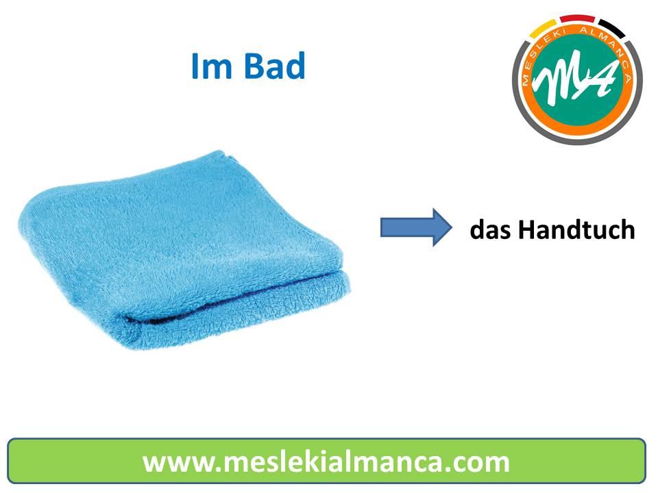 Seslendirme: Banyo Malzemelerinin Almancası 1