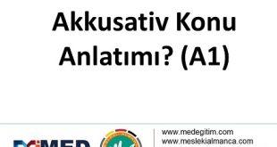 Akkusativ / İsmin i-Hali 11