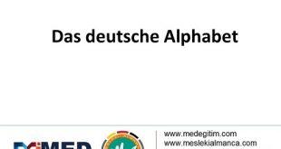 Das deutsche Alphabet - Alman Alfabesi 1