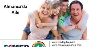 Almanca'da Aile - die Familie 1