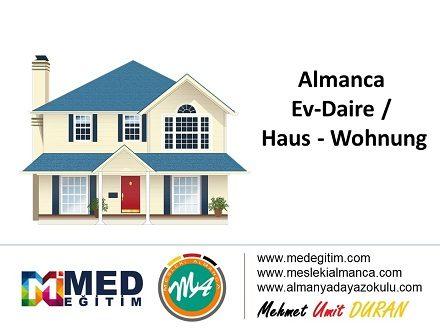 Almanca Ev - Daire / Haus - Wohnung 1