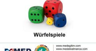 Würfelspiele - DaF Oyunu 1