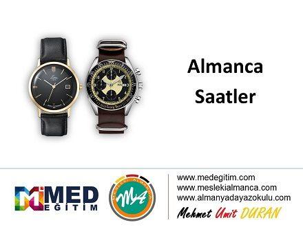 Almanca Saatler - die Uhr 1