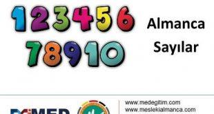 Almanca Sayılar - Alıştırma 1 2