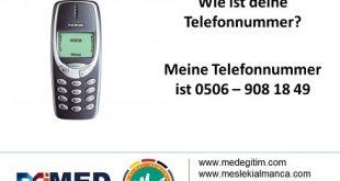Almanca da Telefon Numarası Nasıl Sorulur? (Sesli Anlatım) 6