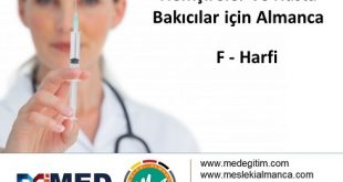 Doktorların Kullandığı Yönergelerin Almanca Karşılıkları 8