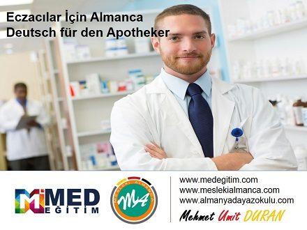 Eczacılar İçin Almanca 1 – Deutsch für den Apotheker 1 1