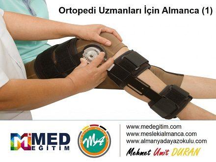 Ortopedi Doktorları İçin Almanca 1 - Deutsch für den Ortopaden 1 1