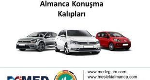Rent a Car'cılar için Almanca Konuşma Kalıpları 1