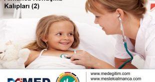 Çocuk Doktorları İçin Almanca 2 - Deutsch für den Kinderarzt 2 11