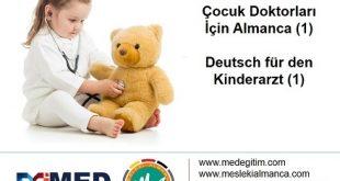 Çocuk Doktorları İçin Almanca 1 - Deutsch für den Kinderarzt 1 13