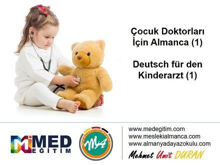 Çocuk Doktorları İçin Almanca 1 - Deutsch für den Kinderarzt 1 1