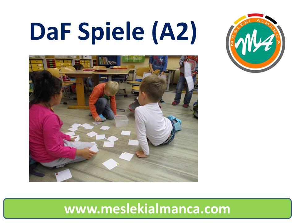 DaF Spiele (A2) 1