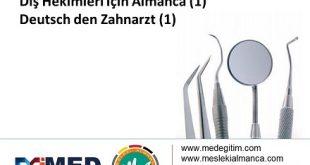 Diş Hekimleri İçin Almanca 1 – Deutsch für den Zahnarzt 1 10