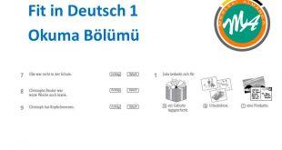 Fit in Deutsch 1 Sınavı Okuma Alıştırması 66