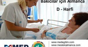 Doktorların Kullandığı Yönergelerin Almanca Karşılıkları 6