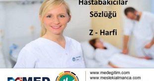 Hemşireler için Almanca - Z Harfi 3
