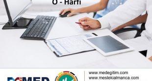 """Almanca Tıp Terimleri - """"O"""" Harfi 5"""