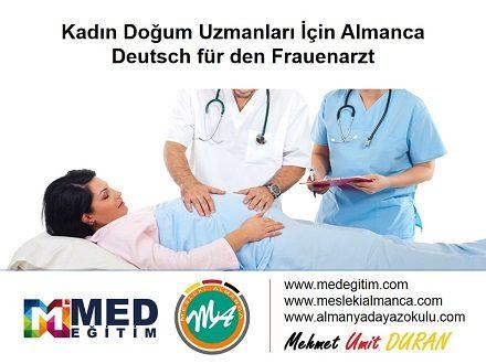 Kadın Doğum Doktorları İçin Almanca (1) - Deutsch für Frauenärzte (1) Video Anlatımlı 1
