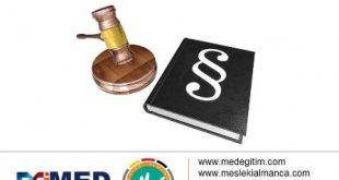 Kanunların Almanca İsimleri 2