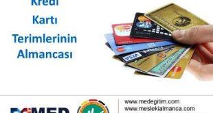 Kredi Kartı Terimlerinin Almancası 11