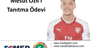 Mesut Özil'in Almanca Tanıtımı 8