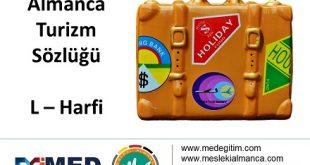 """Almanca Turizm Sözlüğü - """"L"""" Harfi 3"""