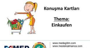 Almanca Konuşma Kartları - Einkaufen 4