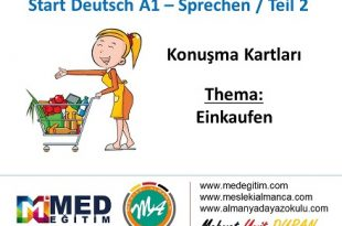Almanca Konuşma Kartları - Einkaufen 16