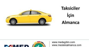 Taksiciler için Almanca Konuşma Kalıpları 2