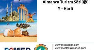 """Almanca Turizm Sözlüğü - """"Y"""" Harfi 4"""